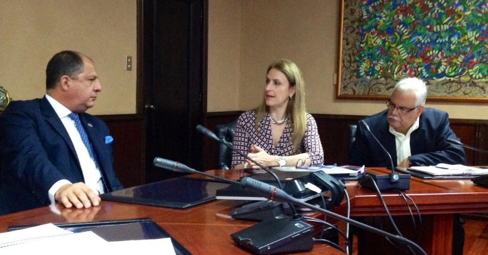 Presentación al señor Presidente Luis Guillermo Solís